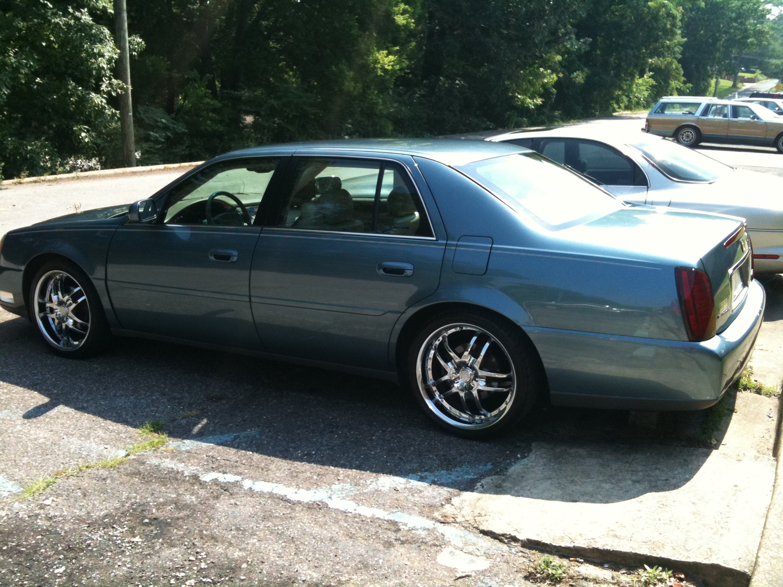 2000 Cadillac DeVille with Rims