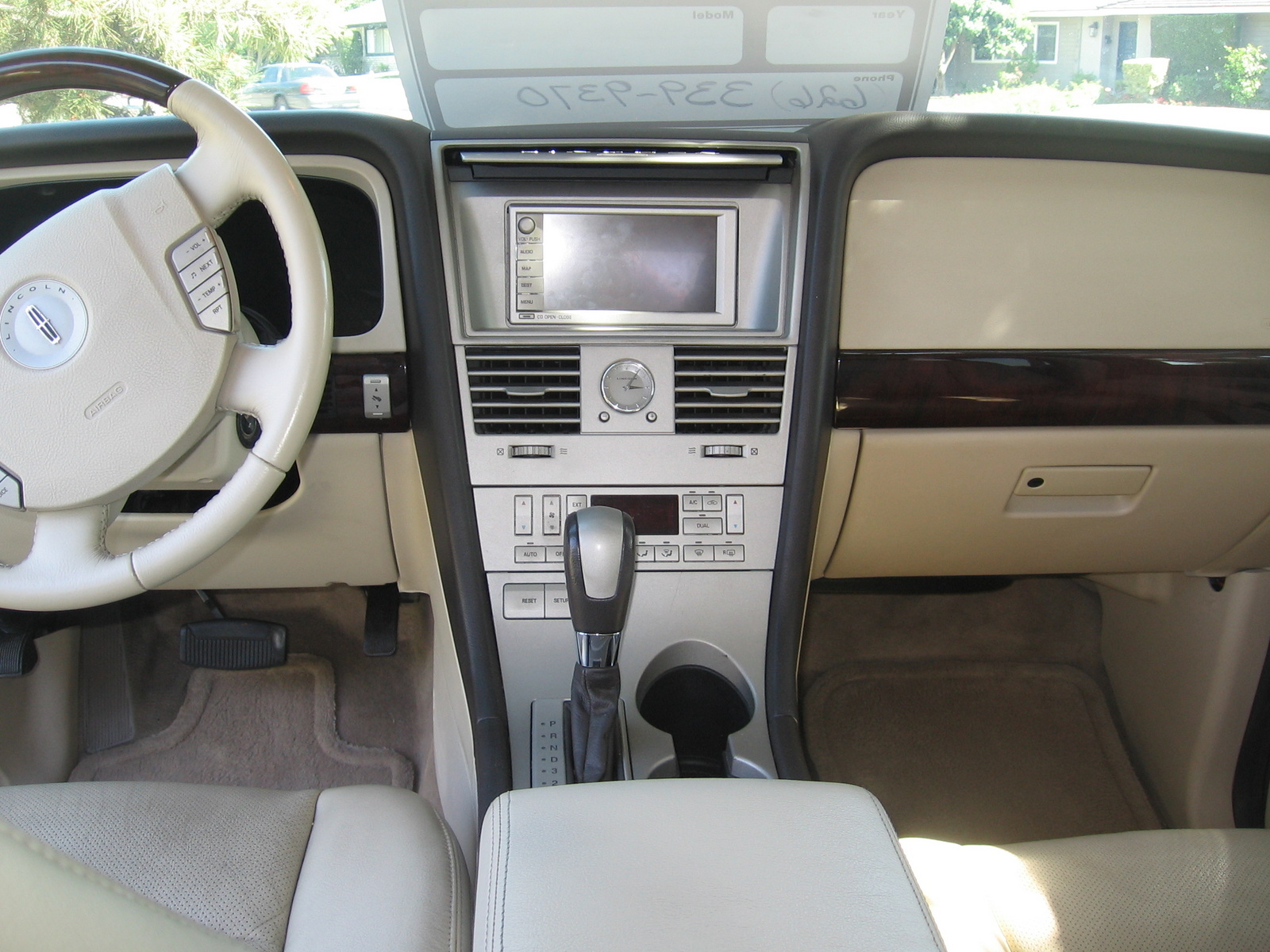 2003 Lincoln Aviator Interior Bing Images