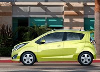 2013 Chevrolet Spark, Side View., exterior, manufacturer