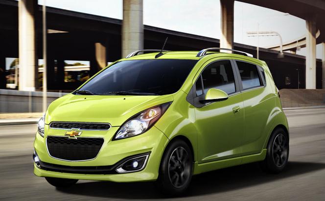 2013 Chevrolet Spark, Front quarter view. , exterior, manufacturer