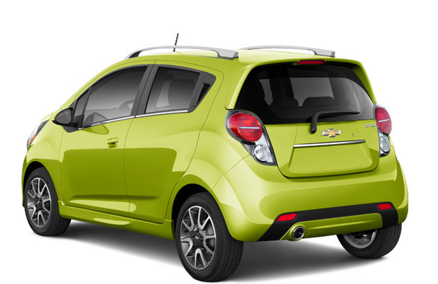 2013 Chevrolet Spark, Back quarter view. , exterior, manufacturer