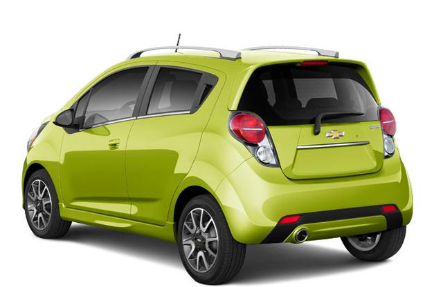 2013 Chevrolet Spark, Back quarter view. , exterior, manufacturer