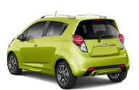 2013 Chevrolet Spark, Back quarter view. , manufacturer, exterior
