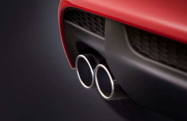 2013 Chevrolet Sonic, Close-up of exhaust. , exterior, manufacturer