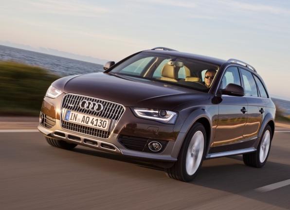 2013 Audi A4 Allroad, Front quarter view  , exterior, manufacturer