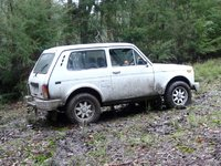 1998 Lada Niva, Off the beaten track, exterior