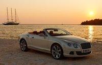 2012 Bentley Continental GTC, Front quarter view. , exterior, manufacturer