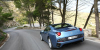 2012 Ferrari California, exterior left rear quarter view, exterior, manufacturer