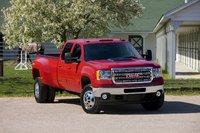 2012 GMC Sierra 3500HD, exterior front view, exterior, manufacturer