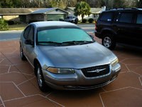 1999 Chrysler Cirrus 4 Dr LXi Sedan, Wife's car with ice on it., exterior