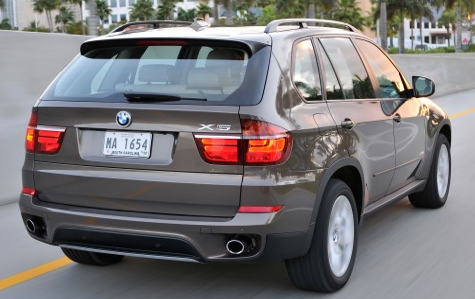 2012 BMW X5, Back quarter view. , exterior, manufacturer, gallery_worthy