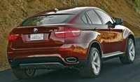 2012 BMW X6, Back quarter view. , exterior, manufacturer