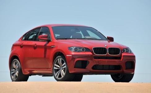 2012 BMW X6 M, Front quarter view. , exterior, manufacturer