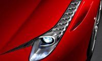 2012 Ferrari 458 Italia, Close-up of headlight. , exterior, manufacturer