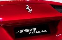 2012 Ferrari 458 Italia, Close-up of hood., exterior, manufacturer