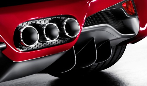2012 Ferrari 458 Italia, Close-up of exhaust., exterior, manufacturer, gallery_worthy