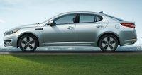 2012 Kia Optima Hybrid, Side View. , exterior, manufacturer