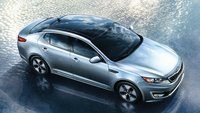 2012 Kia Optima Hybrid, Side View. , manufacturer, exterior