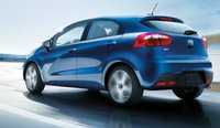 2012 Kia Rio5, Back quarter view. , exterior, manufacturer