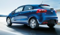 2012 Kia Rio5, Back quarter view. , manufacturer, exterior