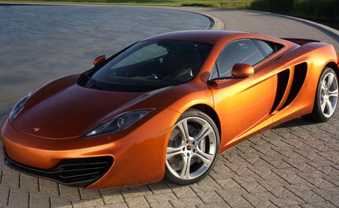 2012 McLaren MP4-12C, Front quarter view. , exterior, manufacturer