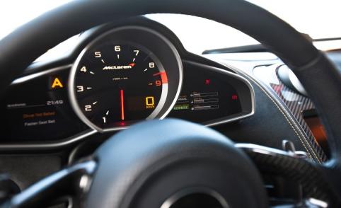 2012 McLaren MP4-12C, Steering Wheel., interior, manufacturer, gallery_worthy