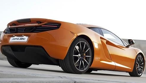 2012 McLaren MP4-12C, Back quarter view. , manufacturer, exterior