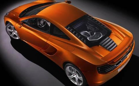 2012 McLaren MP4-12C, Back quarte view. , exterior, manufacturer
