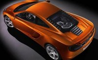 2012 McLaren MP4-12C, Back quarte view. , manufacturer, exterior