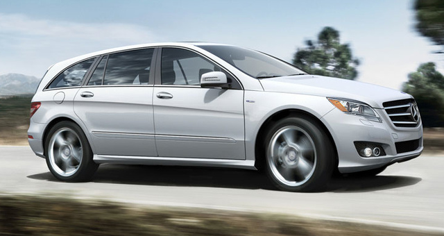 2012 Mercedes-Benz R-Class, Side View. , exterior, manufacturer
