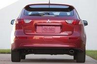2012 Mitsubishi Lancer Sportback, Back View., exterior, manufacturer