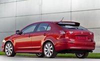 2012 Mitsubishi Lancer Sportback, Back quarter view. , exterior, manufacturer