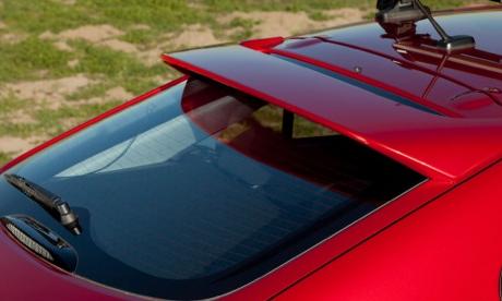 2012 Mitsubishi Lancer Sportback, Back window., exterior, manufacturer