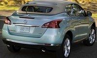 2012 Nissan Murano CrossCabriolet, Back quarter view., exterior, manufacturer