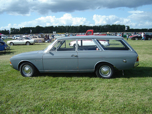 1965 Ford Taunus, Had one exactly the same model and color as this one, exterior