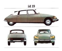 1968 Citroen ID, Had a beige sedan, exterior
