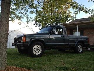 Picture of 1991 Jeep Comanche 2 Dr Pioneer Standard Cab LB, exterior