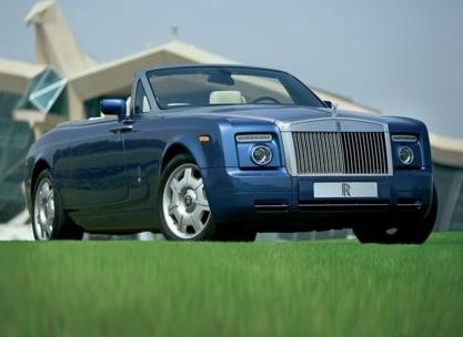 2012 Rolls-Royce Phantom Drophead Coupe, Front quarter view copyright AOL Autos. , exterior, manufacturer