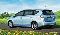 2012 Toyota Prius v, Back quarter view. , exterior, manufacturer