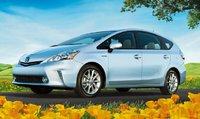 2012 Toyota Prius V, Front quarter view. , exterior, manufacturer