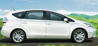 2012 Toyota Prius v, Side View. , exterior, manufacturer