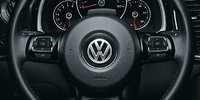 2012 Volkswagen Beetle, Close-up of Steering Wheel., interior, manufacturer