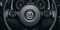 2012 Volkswagen Beetle, Close-up of Steering Wheel., interior, manufacturer