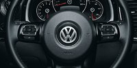 2012 Volkswagen Beetle, Close-up of Steering Wheel., manufacturer, interior