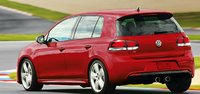 2012 Volkswagen Golf R, Back quarter view., manufacturer, exterior