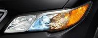 2013 Acura RDX, Close-up of headlight., exterior, manufacturer