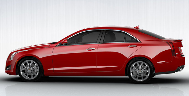 2013 Cadillac ATS, Side View., exterior, manufacturer