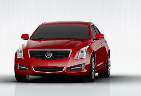 2013 Cadillac ATS, Front quarter view., exterior, manufacturer