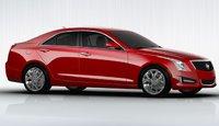 2013 Cadillac ATS, Side view. , exterior, manufacturer