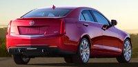 2013 Cadillac ATS, Back quarter view. , exterior, manufacturer